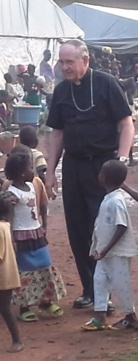 Bishop Pates in Central African Republic