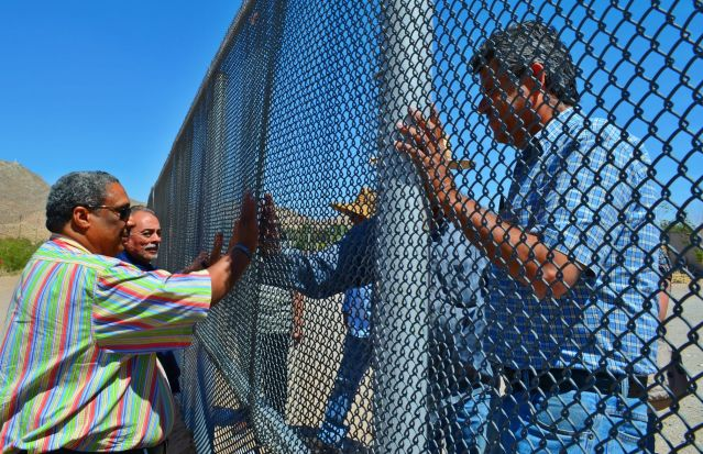 Ralph McCloud of the Catholic Campaign for Human Development visits the US-Mexico border.