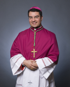 photograph of Bishop Oscar Cantu