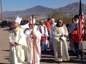 Bishops gather to celebrate Mass along border