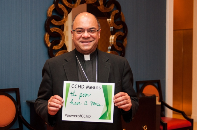 "Bishop Shelton Fabre of Houma-Thibodaux: ""CCHD means the poor have a voice."""