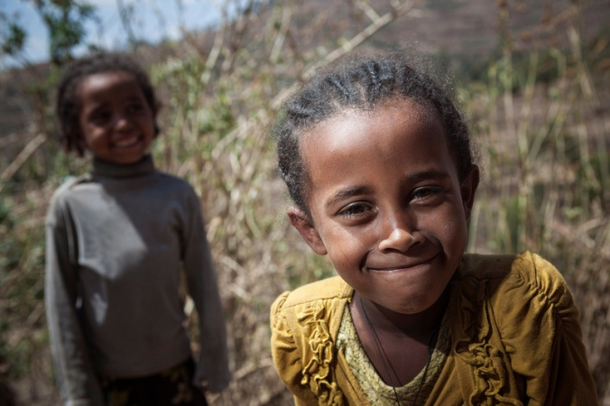Tena is one of many children severely affected by the worst drought in 50 years, prolonged by El Nino. Photo by Petterik Wiggers for Catholic Relief Services.